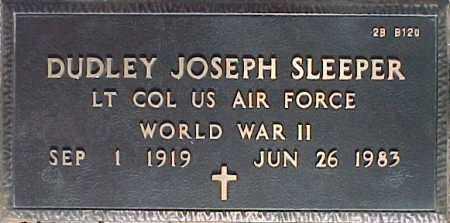 SLEEPER, DUDLEY JOSEPH - Maricopa County, Arizona | DUDLEY JOSEPH SLEEPER - Arizona Gravestone Photos