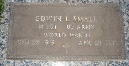 SMALL, EDWIN L. - Maricopa County, Arizona | EDWIN L. SMALL - Arizona Gravestone Photos