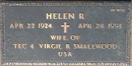 SMALLWOOD, HELEN R. - Maricopa County, Arizona | HELEN R. SMALLWOOD - Arizona Gravestone Photos