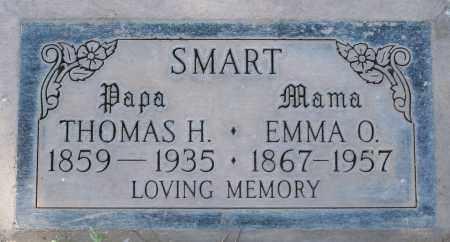 SMART, EMMA O - Maricopa County, Arizona | EMMA O SMART - Arizona Gravestone Photos