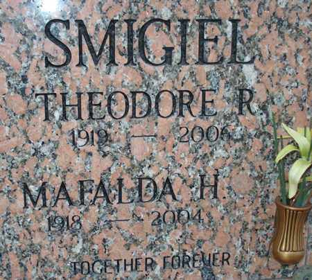 SMIGIEL, MAFALDA H. - Maricopa County, Arizona | MAFALDA H. SMIGIEL - Arizona Gravestone Photos