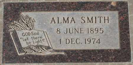 SMITH, ALMA - Maricopa County, Arizona | ALMA SMITH - Arizona Gravestone Photos