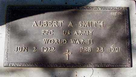 SMITH, ALBERT A. - Maricopa County, Arizona   ALBERT A. SMITH - Arizona Gravestone Photos