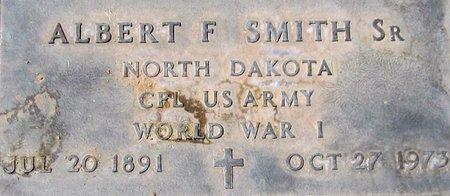 SMITH, SR, ALBERT F. - Maricopa County, Arizona | ALBERT F. SMITH, SR - Arizona Gravestone Photos