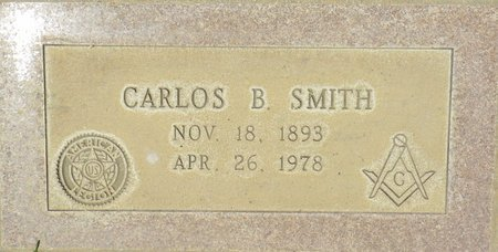 SMITH, CARLOS B - Maricopa County, Arizona | CARLOS B SMITH - Arizona Gravestone Photos