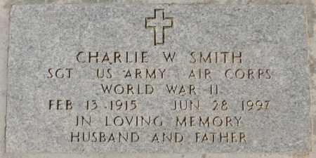 SMITH, CHARLIE W - Maricopa County, Arizona | CHARLIE W SMITH - Arizona Gravestone Photos