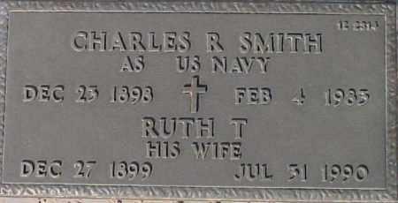 SMITH, CHARLES R - Maricopa County, Arizona | CHARLES R SMITH - Arizona Gravestone Photos