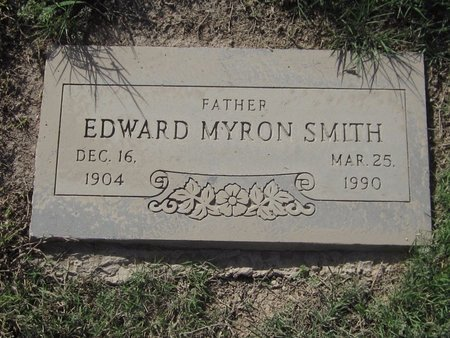 SMITH, EDWARD MYRON - Maricopa County, Arizona | EDWARD MYRON SMITH - Arizona Gravestone Photos