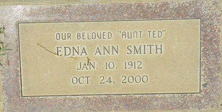 SMITH, EDNA ANN - Maricopa County, Arizona | EDNA ANN SMITH - Arizona Gravestone Photos