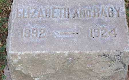 SMITH, ELIZABETH AND BABY - Maricopa County, Arizona | ELIZABETH AND BABY SMITH - Arizona Gravestone Photos