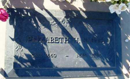 SMITH, ELIZABETH H. - Maricopa County, Arizona | ELIZABETH H. SMITH - Arizona Gravestone Photos