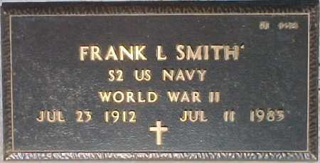SMITH, FRANK L. - Maricopa County, Arizona | FRANK L. SMITH - Arizona Gravestone Photos