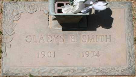 SMITH, GLADYS B. - Maricopa County, Arizona   GLADYS B. SMITH - Arizona Gravestone Photos