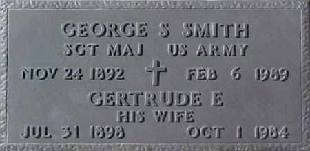 SMITH, GEORGE S. - Maricopa County, Arizona | GEORGE S. SMITH - Arizona Gravestone Photos