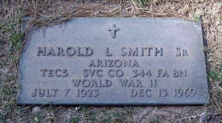 SMITH, HAROLD L., SR. - Maricopa County, Arizona | HAROLD L., SR. SMITH - Arizona Gravestone Photos