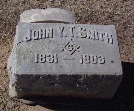 SMITH, JOHN Y. T. - Maricopa County, Arizona | JOHN Y. T. SMITH - Arizona Gravestone Photos