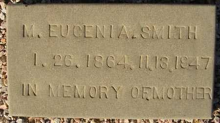 SMITH, M. EUGENIA - Maricopa County, Arizona | M. EUGENIA SMITH - Arizona Gravestone Photos