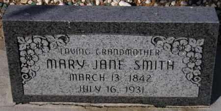 SMITH, MARY JANE - Maricopa County, Arizona | MARY JANE SMITH - Arizona Gravestone Photos