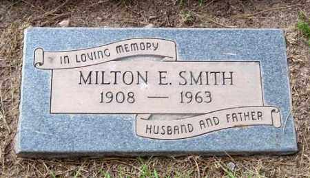 SMITH, MILTON E. - Maricopa County, Arizona | MILTON E. SMITH - Arizona Gravestone Photos