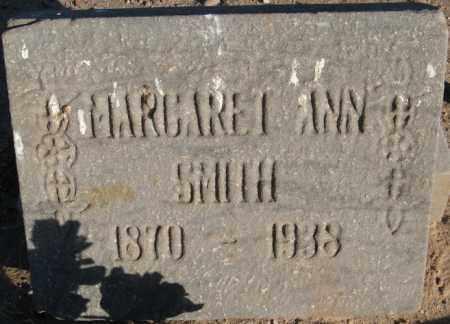 SMITH, MARGARET ANN - Maricopa County, Arizona   MARGARET ANN SMITH - Arizona Gravestone Photos