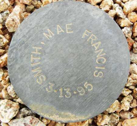 SMITH, MAE FRANCIS - Maricopa County, Arizona   MAE FRANCIS SMITH - Arizona Gravestone Photos