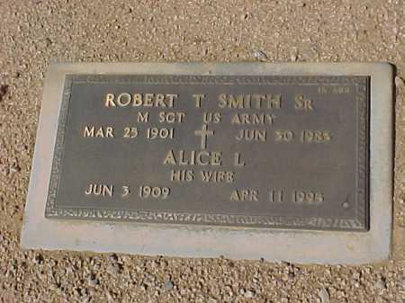 SMITH, ROBERT T., SR. - Maricopa County, Arizona | ROBERT T., SR. SMITH - Arizona Gravestone Photos