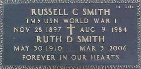 SMITH, RUSSELL C - Maricopa County, Arizona | RUSSELL C SMITH - Arizona Gravestone Photos