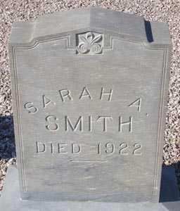 SMITH, SARAH A. - Maricopa County, Arizona | SARAH A. SMITH - Arizona Gravestone Photos