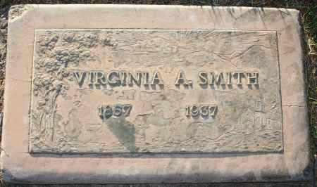 SMITH, VIRGINIA A - Maricopa County, Arizona | VIRGINIA A SMITH - Arizona Gravestone Photos