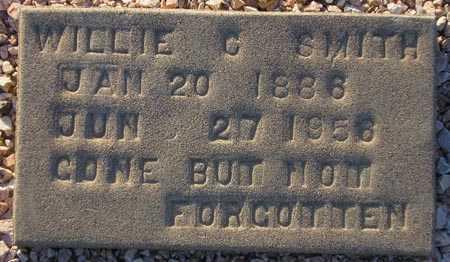 SMITH, WILLIE C. - Maricopa County, Arizona   WILLIE C. SMITH - Arizona Gravestone Photos