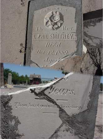 SMITHEY, L PHIL, REV. - Maricopa County, Arizona | L PHIL, REV. SMITHEY - Arizona Gravestone Photos