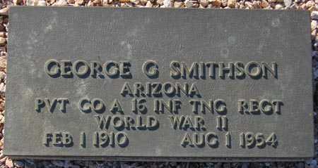 SMITHSON, GEORGE G. - Maricopa County, Arizona | GEORGE G. SMITHSON - Arizona Gravestone Photos