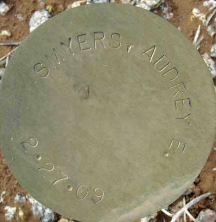 SMYERS, AUDREY E. - Maricopa County, Arizona | AUDREY E. SMYERS - Arizona Gravestone Photos
