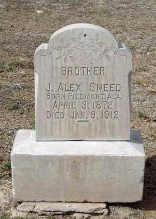 SNEED, J. ALEX - Maricopa County, Arizona   J. ALEX SNEED - Arizona Gravestone Photos