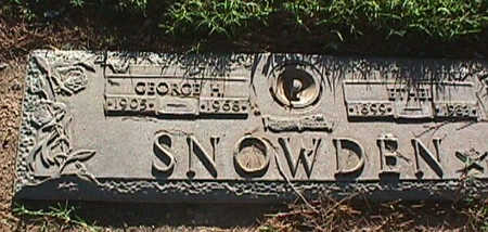 SNOWDEN, GEORGE H. - Maricopa County, Arizona | GEORGE H. SNOWDEN - Arizona Gravestone Photos