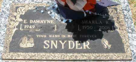 SNYDER, SHARLA R. - Maricopa County, Arizona | SHARLA R. SNYDER - Arizona Gravestone Photos