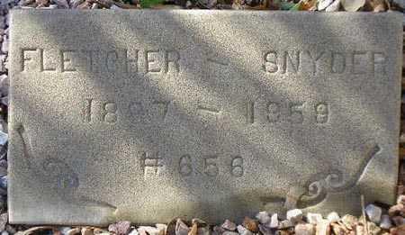 SNYDER, FLETCHER - Maricopa County, Arizona | FLETCHER SNYDER - Arizona Gravestone Photos