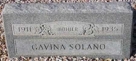 SOLANO, GAVINA - Maricopa County, Arizona | GAVINA SOLANO - Arizona Gravestone Photos