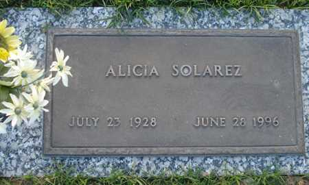 SOLAREZ, ALICIA - Maricopa County, Arizona | ALICIA SOLAREZ - Arizona Gravestone Photos