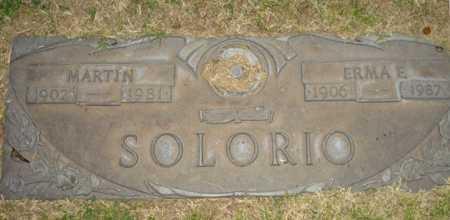 SOLORIO, ERMA E. - Maricopa County, Arizona | ERMA E. SOLORIO - Arizona Gravestone Photos