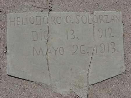 SOLORZANO, HELIDORE G - Maricopa County, Arizona | HELIDORE G SOLORZANO - Arizona Gravestone Photos