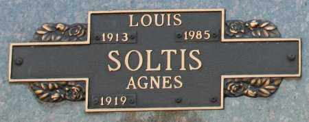 SOLTIS, AGNES - Maricopa County, Arizona | AGNES SOLTIS - Arizona Gravestone Photos