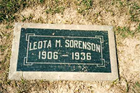 HORNE SORENSON, LEOTA M - Maricopa County, Arizona | LEOTA M HORNE SORENSON - Arizona Gravestone Photos