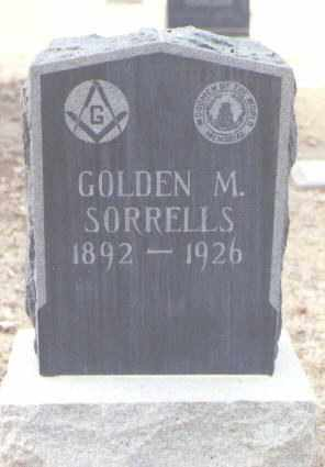 SORRELLS, GOLDEN M - Maricopa County, Arizona | GOLDEN M SORRELLS - Arizona Gravestone Photos