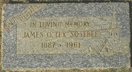 SOSEBEE, JAMES O. - Maricopa County, Arizona | JAMES O. SOSEBEE - Arizona Gravestone Photos