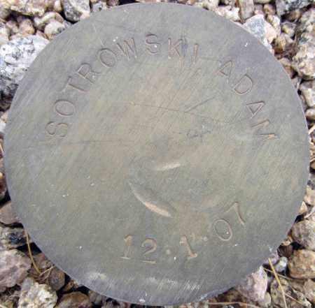 SOTROWSKI, ADAM - Maricopa County, Arizona | ADAM SOTROWSKI - Arizona Gravestone Photos