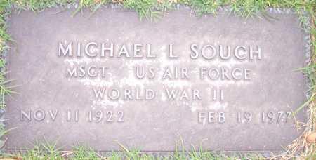 SOUCH, MICHAEL L. - Maricopa County, Arizona | MICHAEL L. SOUCH - Arizona Gravestone Photos