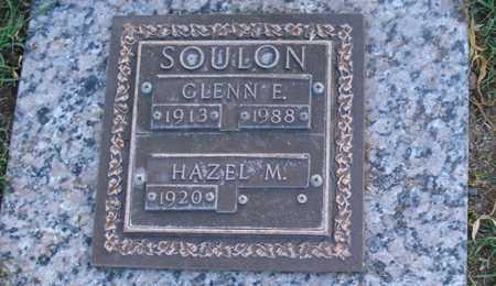 SOULON, GLENN E. - Maricopa County, Arizona | GLENN E. SOULON - Arizona Gravestone Photos