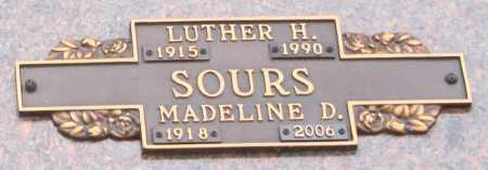 SOURS, MADELINE D - Maricopa County, Arizona | MADELINE D SOURS - Arizona Gravestone Photos