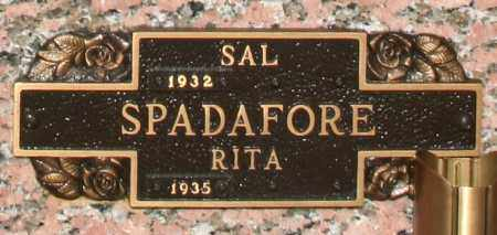 SPADAFORE, RITA - Maricopa County, Arizona | RITA SPADAFORE - Arizona Gravestone Photos